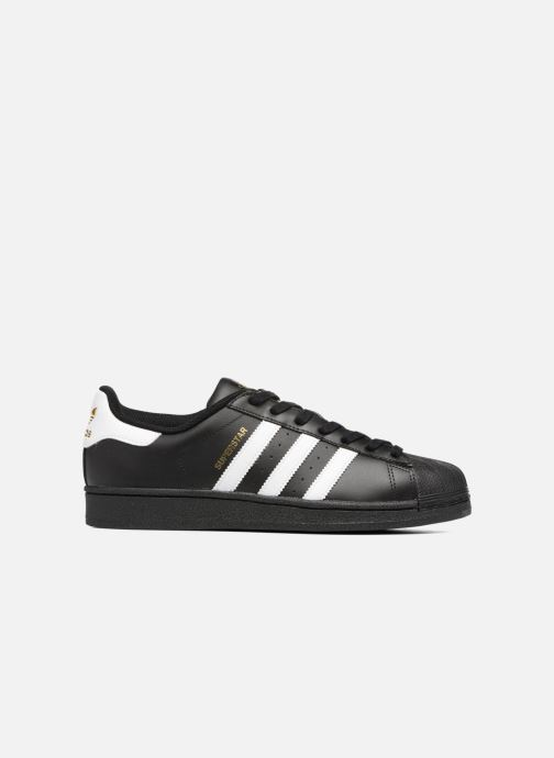 Sneaker adidas originals Adidas Superstar Foundation schwarz ansicht von hinten