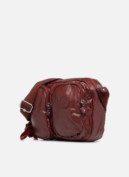 Handtaschen kipling PATTI weinrot schuhe getragen