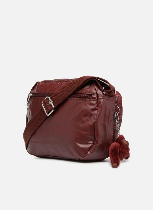 Handtaschen kipling PATTI weinrot ansicht von rechts