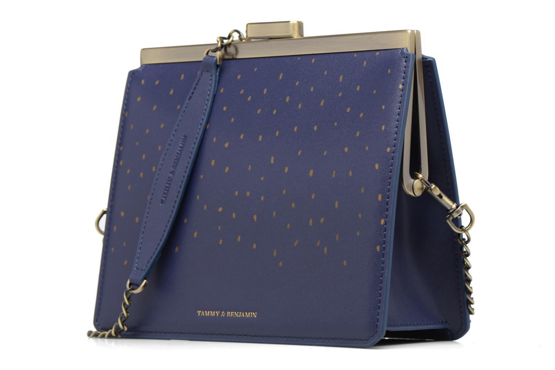 Bolsos de mano Tammy & Benjamin Crossbody Jeanne Azul vista del modelo