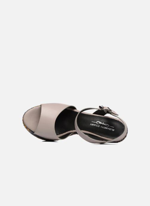 Sandales et nu-pieds Elizabeth Stuart Eugenie Beige vue gauche