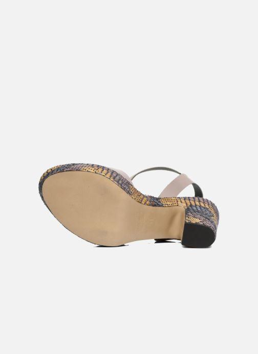 Sandales et nu-pieds Elizabeth Stuart Eugenie Beige vue haut