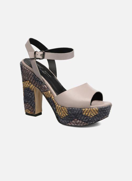 Sandales et nu-pieds Elizabeth Stuart Eugenie Beige vue détail/paire