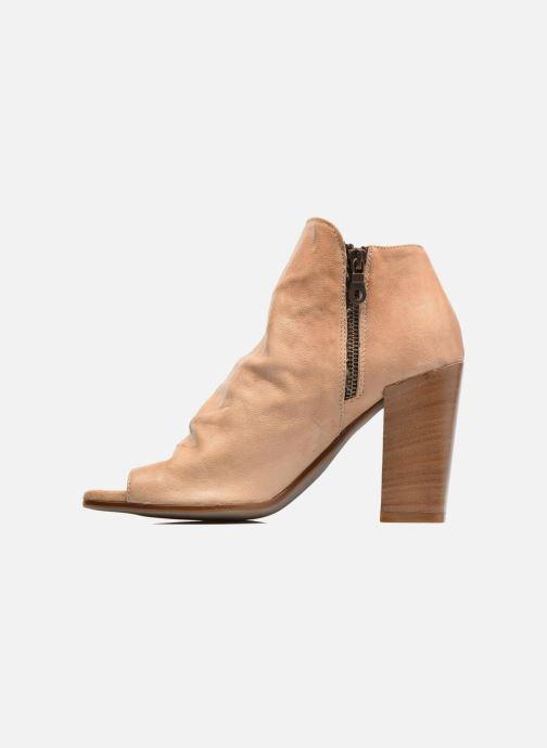 Ankle boots Elizabeth Stuart Sigride Beige front view