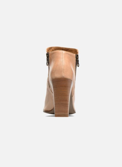 Ankle boots Elizabeth Stuart Sigride Beige view from the right