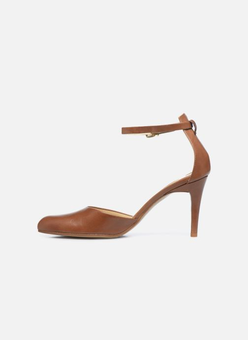 Zapatos de tacón Elizabeth Stuart Civry 304 Marrón vista de frente