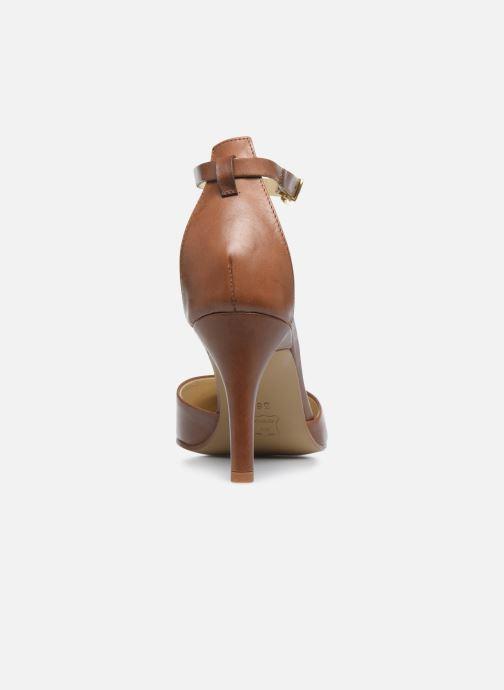 Zapatos de tacón Elizabeth Stuart Civry 304 Marrón vista lateral derecha
