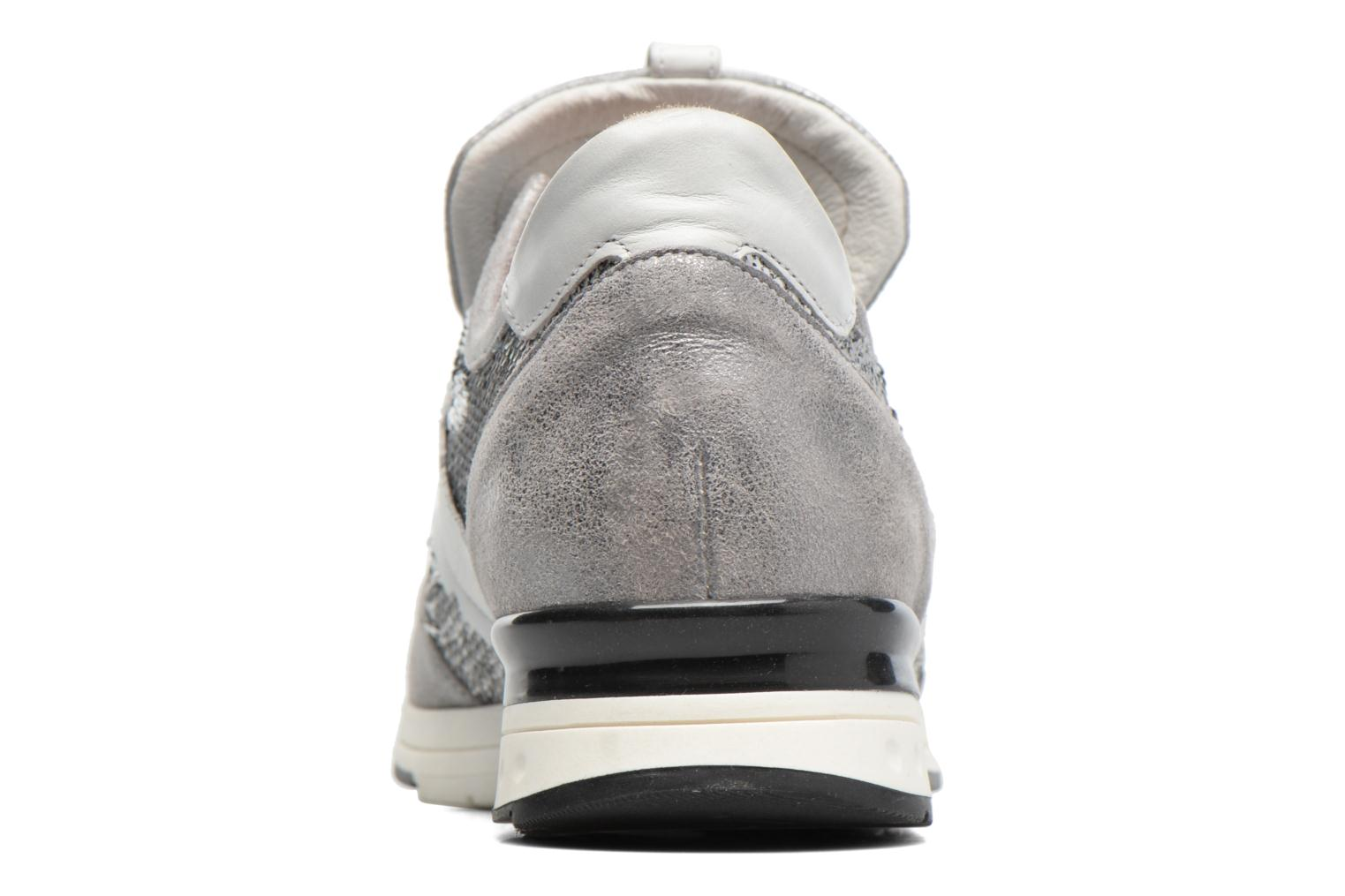 Trainers Elizabeth Stuart Galia 984 Silver view from the right