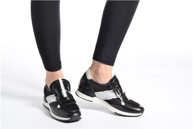 Sneaker Elizabeth Stuart Galia 986 schwarz ansicht von unten / tasche getragen