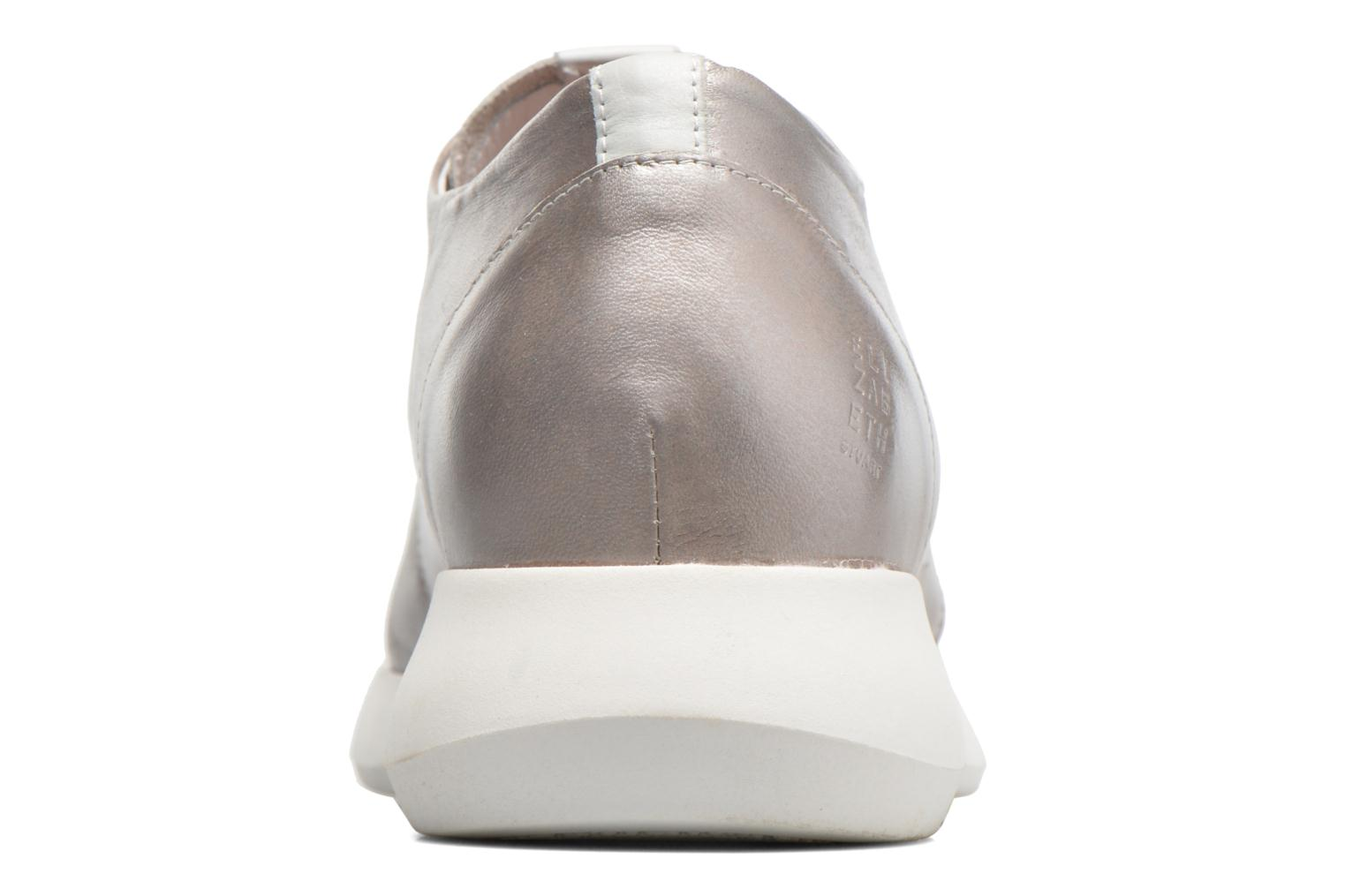 Trainers Elizabeth Stuart Gozi 967 Silver view from the right