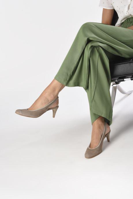 Zapatos de tacón Elizabeth Stuart Hirez 300 Beige vista de abajo