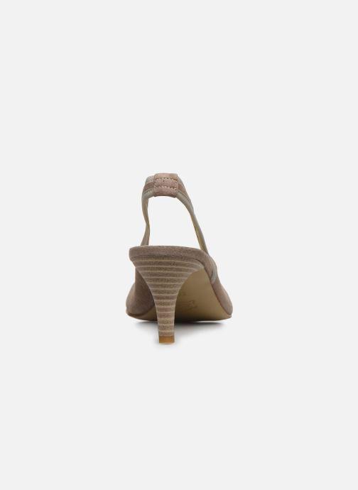 Zapatos de tacón Elizabeth Stuart Hirez 300 Beige vista lateral derecha