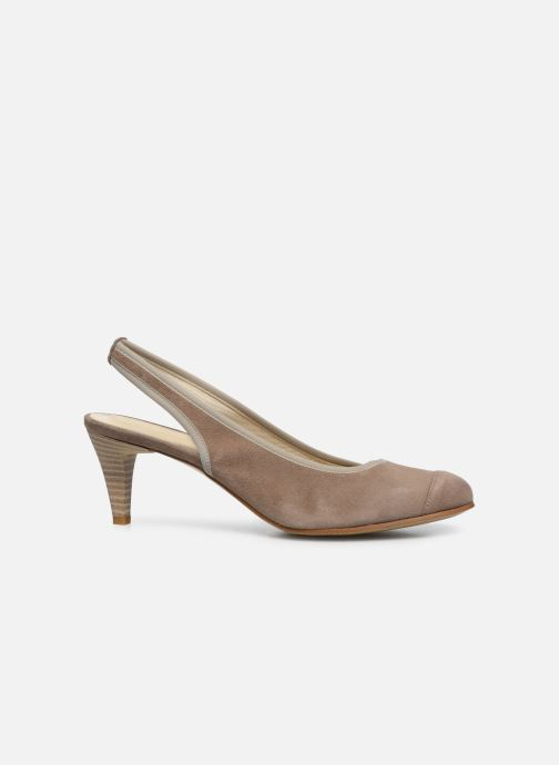 Zapatos de tacón Elizabeth Stuart Hirez 300 Beige vistra trasera