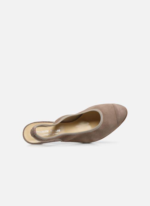 Zapatos de tacón Elizabeth Stuart Hirez 300 Beige vista lateral izquierda