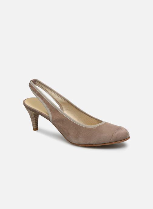 Zapatos de tacón Elizabeth Stuart Hirez 300 Beige vista de detalle / par