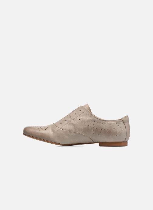 Lace-up shoes Elizabeth Stuart Issy 390 Beige front view
