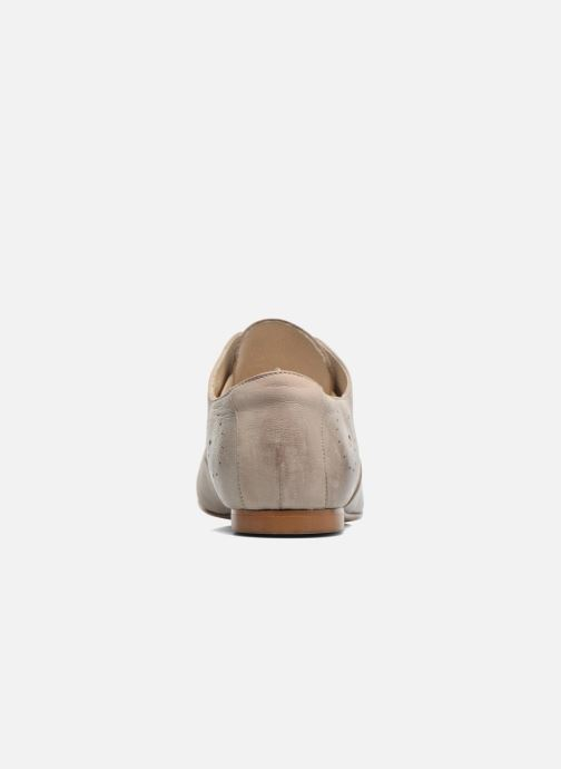 Lace-up shoes Elizabeth Stuart Issy 390 Beige view from the right