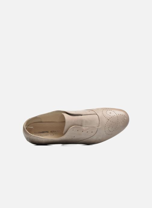 Lace-up shoes Elizabeth Stuart Issy 390 Beige view from the left