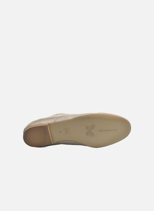Lace-up shoes Elizabeth Stuart Issy 390 Beige view from above