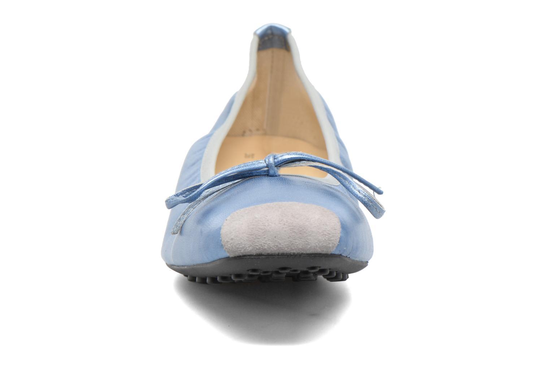 Bailarinas Elizabeth Stuart Lacq 391 Azul vista del modelo