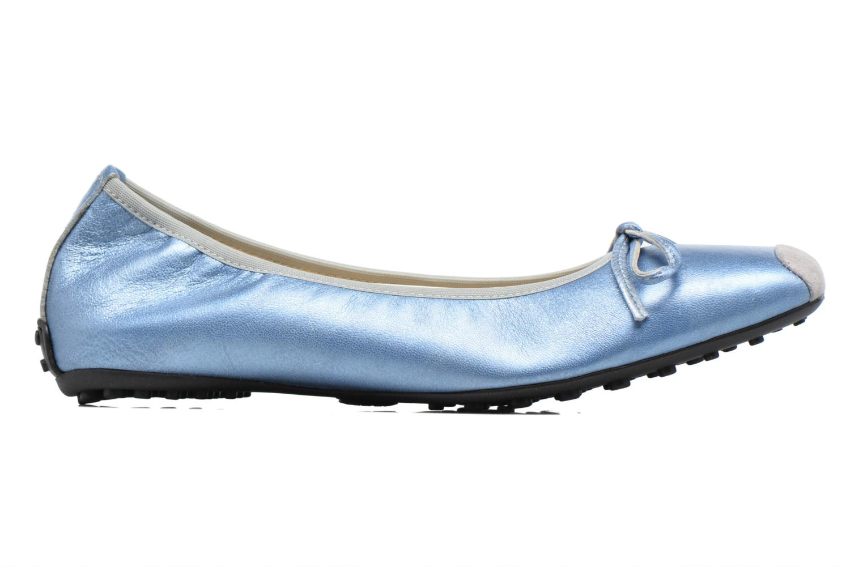 Bailarinas Elizabeth Stuart Lacq 391 Azul vistra trasera