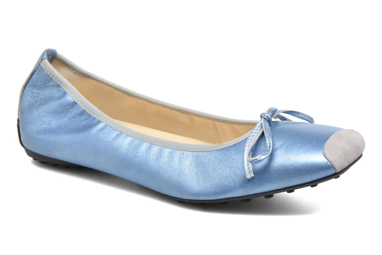Bailarinas Elizabeth Stuart Lacq 391 Azul vista de detalle / par