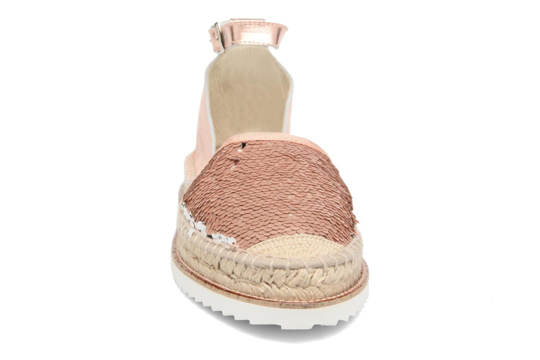 Espadrilles Elizabeth Stuart Melissa 862 Rose vue portées chaussures