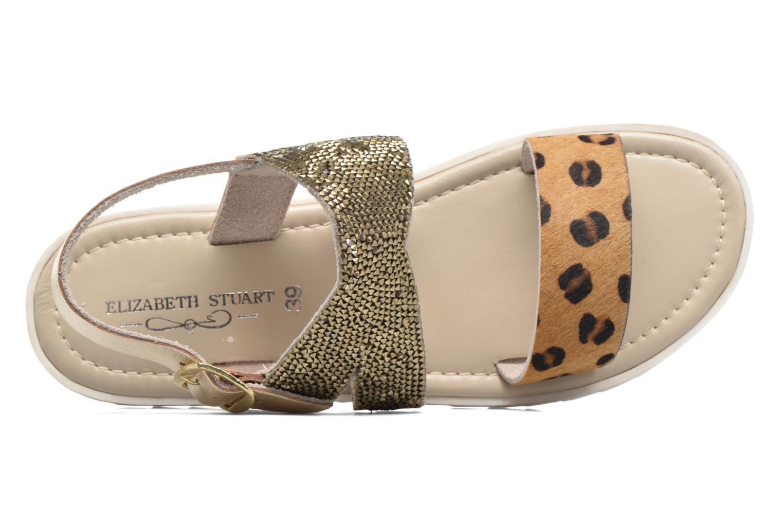 Sandales et nu-pieds Elizabeth Stuart Paris 874 Or et bronze vue gauche