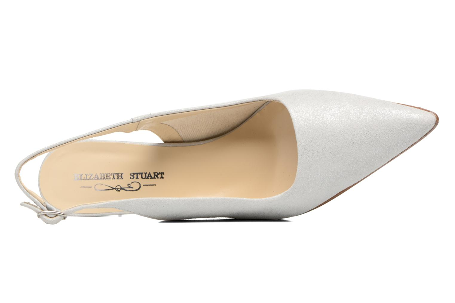 High heels Elizabeth Stuart Rulex 415 White view from the left