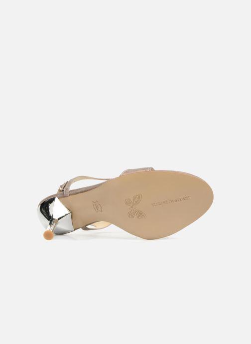 Sandales et nu-pieds Elizabeth Stuart Bhm 415 Argent vue haut