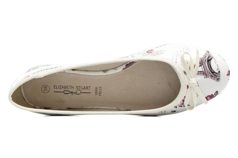 Ballerines Elizabeth Stuart Buz 415 Blanc vue gauche