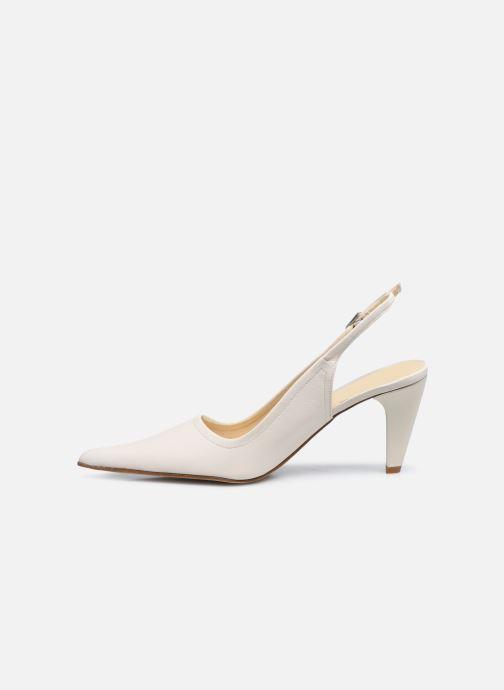 Zapatos de tacón Elizabeth Stuart Debrys 304 Beige vista de frente