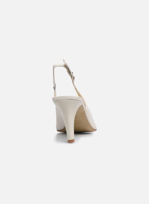 Zapatos de tacón Elizabeth Stuart Debrys 304 Beige vista lateral derecha