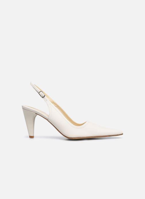 Zapatos de tacón Elizabeth Stuart Debrys 304 Beige vistra trasera