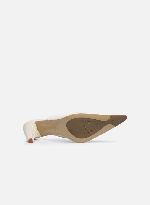 Zapatos de tacón Elizabeth Stuart Debrys 304 Beige vista de arriba