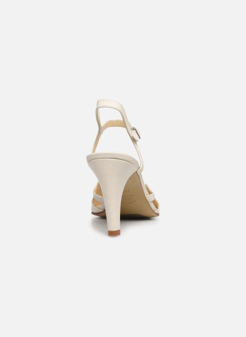 Sandales et nu-pieds Elizabeth Stuart Demo 304 Beige vue droite