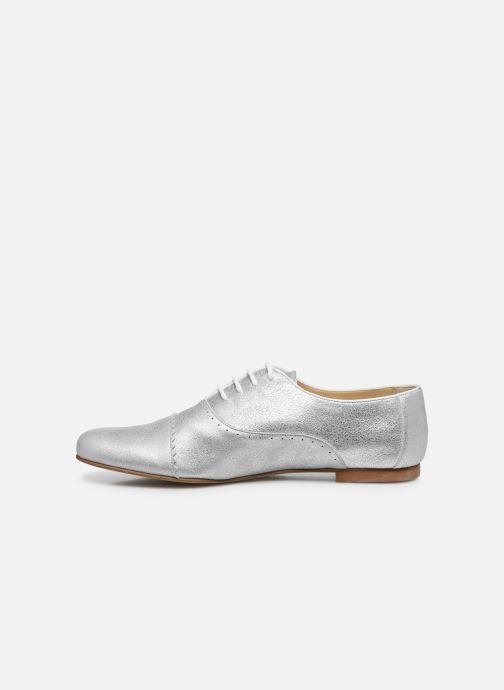 Zapatos con cordones Elizabeth Stuart Isman 339 Plateado vista de frente