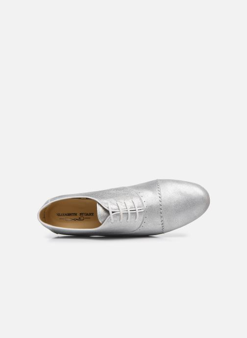 Zapatos con cordones Elizabeth Stuart Isman 339 Plateado vista lateral izquierda