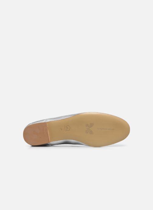 Zapatos con cordones Elizabeth Stuart Isman 339 Plateado vista de arriba