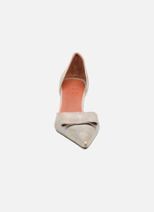 Zapatos de tacón Elizabeth Stuart Kess 415 Plateado vista del modelo