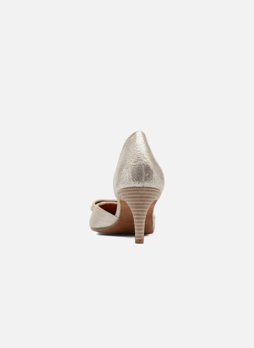 Zapatos de tacón Elizabeth Stuart Kess 415 Plateado vista lateral derecha