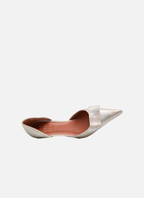 Zapatos de tacón Elizabeth Stuart Kess 415 Plateado vista lateral izquierda
