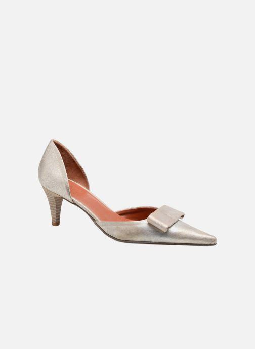 Zapatos de tacón Elizabeth Stuart Kess 415 Plateado vista de detalle / par