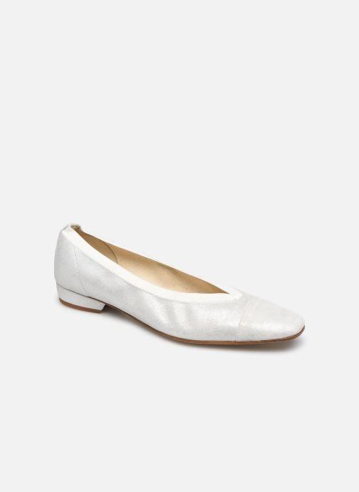 Ballerines Elizabeth Stuart Paris 415 Blanc vue détail/paire
