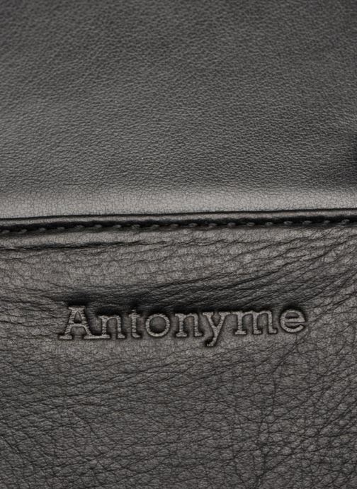 Laptop cases Antonyme by Nat & Nin Sac Ordinateur Marius Cuir Black view from the left
