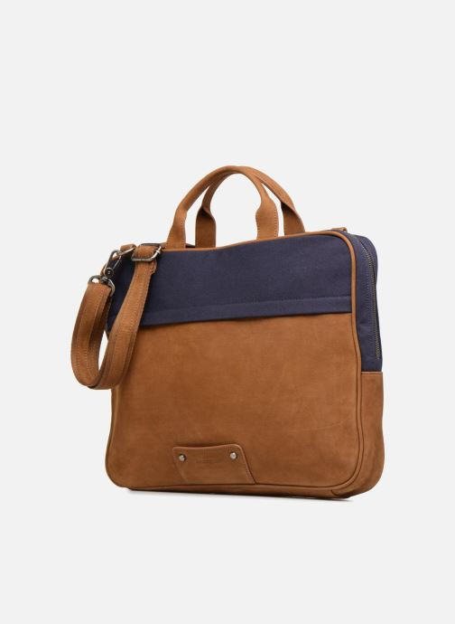 Laptop cases Antonyme by Nat & Nin Sac Ordinateur Emile Blue model view