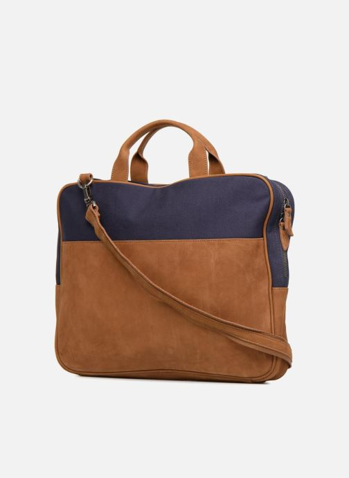 Laptop cases Antonyme by Nat & Nin Sac Ordinateur Emile Blue view from the right
