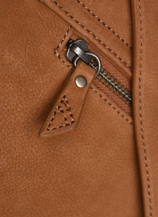 Men's bags Antonyme by Nat & Nin Messenger James Cuir Brown view from the left