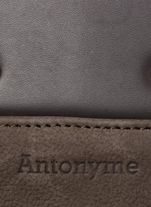 Men's bags Antonyme by Nat & Nin Porté travers Cuir Lucien Brown view from the left