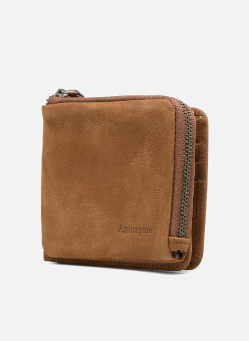 Wallets & cases Antonyme by Nat & Nin Porte-monnaie Lenny Cuir Brown model view